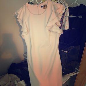 Light pink sleeveless dress